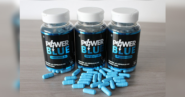 Capsulas Power Blue