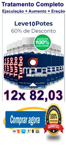 Comprar 10 potes de Turbo Maca Peruvian com 60% de desconto