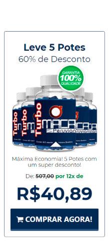 Comprar 5 potes de Turbo Maca Peruvian com 60% de desconto