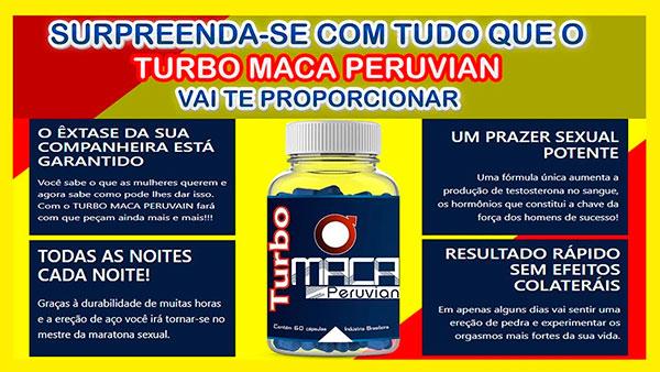 Benefícios de Turbo Maca Peruvian