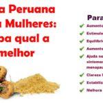 Maca Peruana para mulheres ⇢ Funciona? Te contamos tudo aqui!