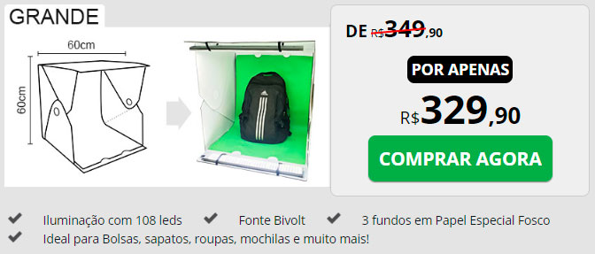 comprar photo studio box