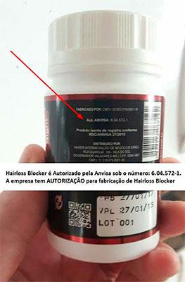 HaisLossBlocker Anvisa