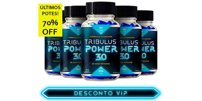 tribulus power 3.0 desconto 70%