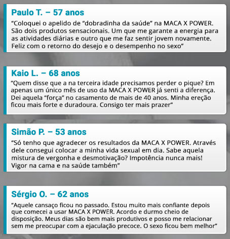 maca x power depoimentos