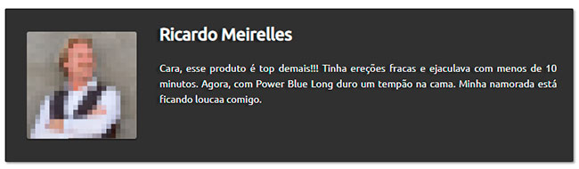 depoimento power blue long