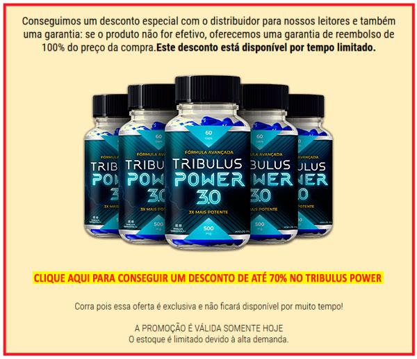 tribulus power oferta desconto