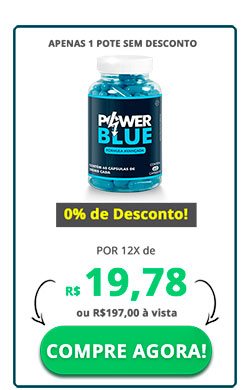 1 pote Power Blue