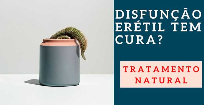Como tratar a disfunção erétil