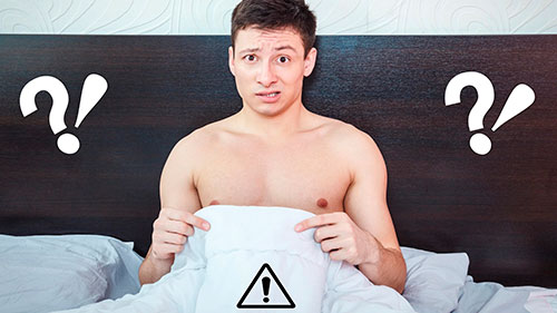 Perda de ereção durante o ato